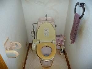 改装前トイレ