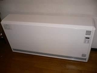 ユニデール 蓄熱暖房機